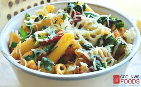 Домашние макароны с сыром