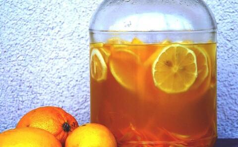 Лимончелло на водке в домашних условиях