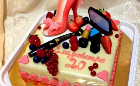 Торт «косметичка»