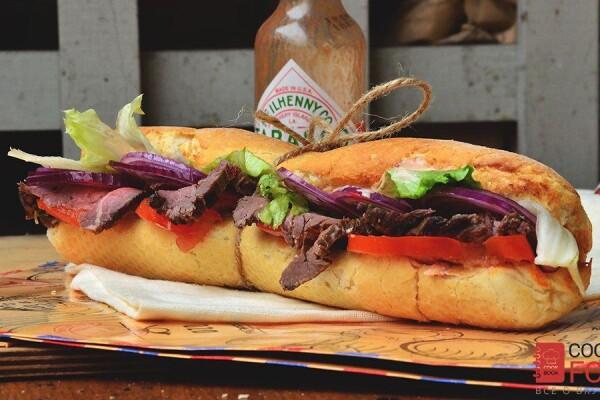 сандвич с ростбифом
