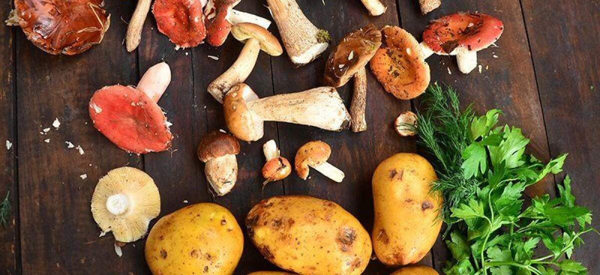 CoolWNS · Жарёха из грибов с картошкой