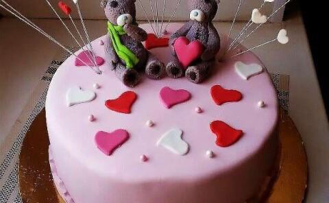 Торт «Мишки Тэди»