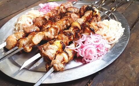 Шашлык из свинины с уксусом — советский рецепт