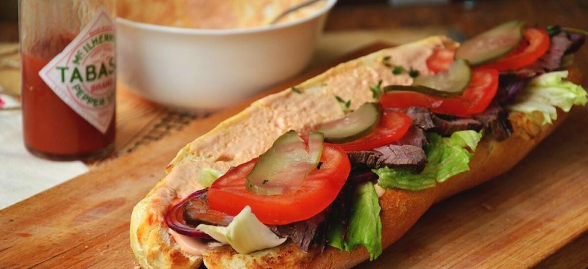 CoolWNS · Сэндвич с ростбифом