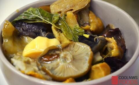 Жареная картошка с солеными грибами