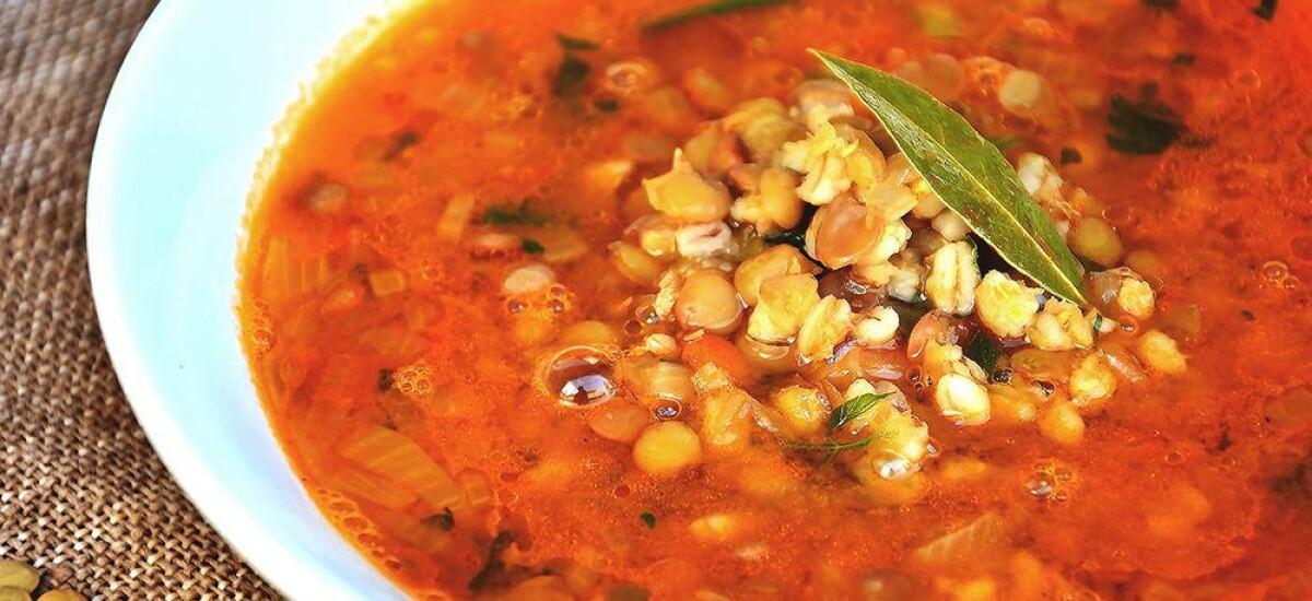 CoolWNS · Чечевичный суп без мяса и картофеля