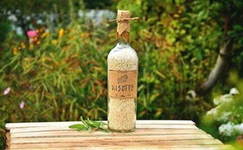 Лавка · Рис для ризотто в бутылке