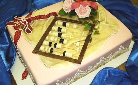 Торт «Счеты»