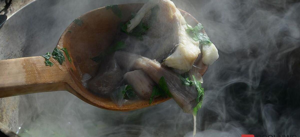CoolWNS · Уха из судака с лесными грибами