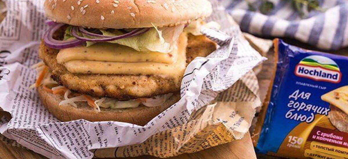CoolWNS · Бургер с хрустящей курицей