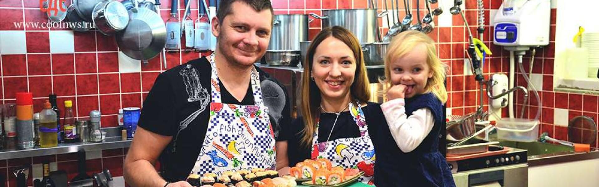 CoolWNS ·Мастер-класс по приготовлению суши и роллов
