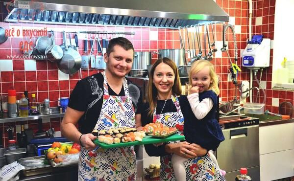CoolWNS · Мастер-класс по приготовлению суши и роллов