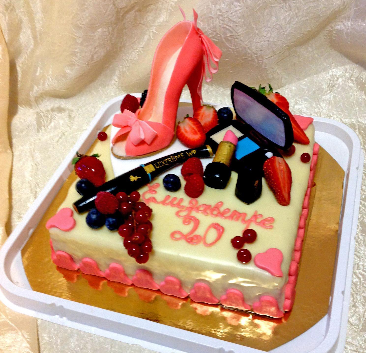 Торт из мастики на день рождения