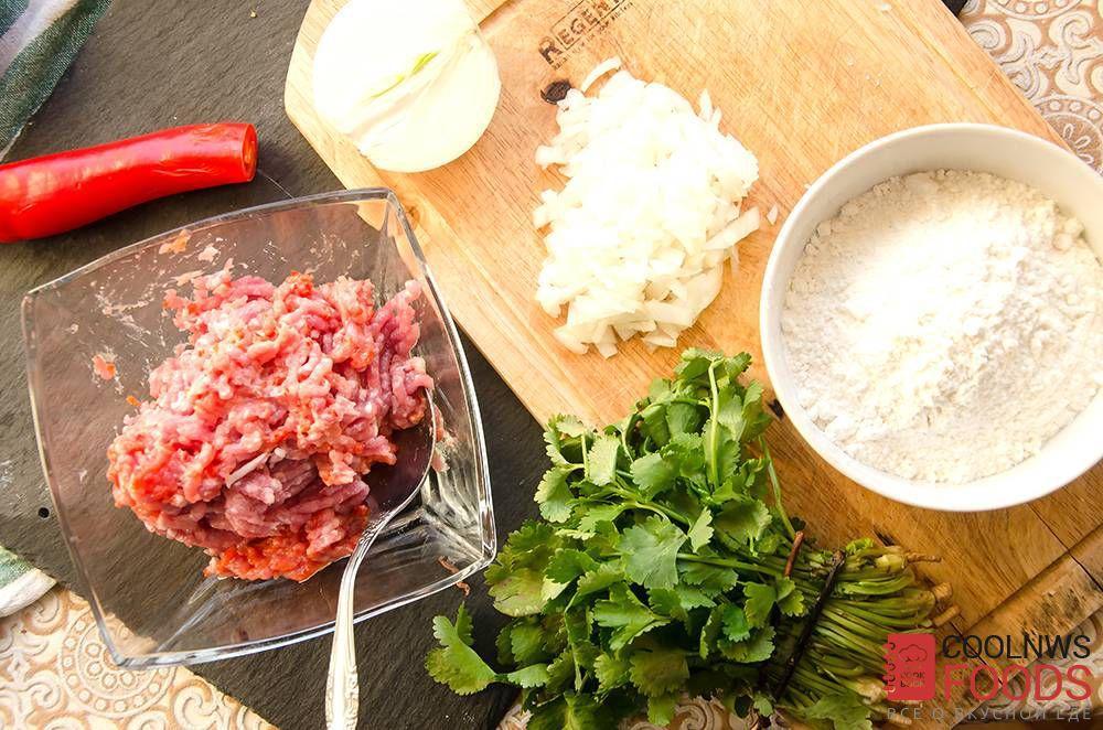 Хинкали классический рецепт с фото
